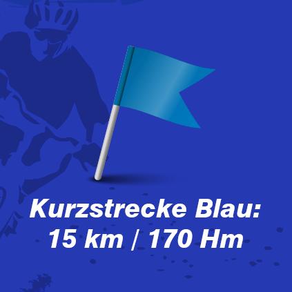 mtb Kurzstrecke Blau